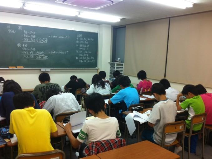 生徒の授業の様子